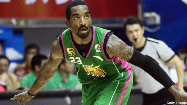 NBA Player JR Smith Signs With Zhejiang, China