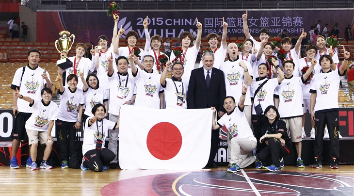 Japan Wins 2015 Asia Championship – Defends Title