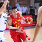 China Wins First Game Over Korea 76-73